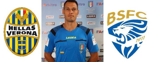 Maurizio mariani arbitra Hellas Verona – Brescia
