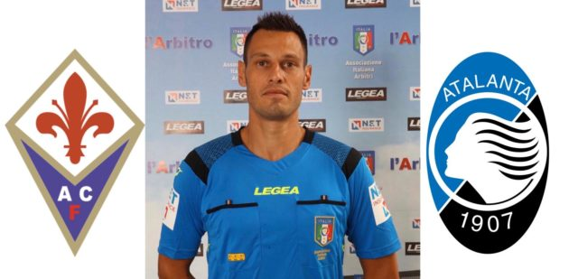Maurizio Mariani arbitra Fiorentina – Atalanta