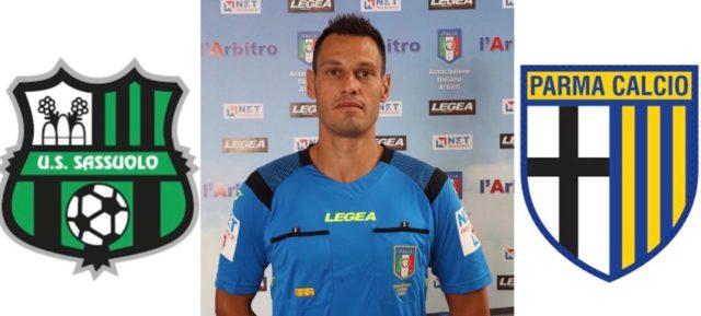Maurizio Mariani arbitra: Sassuolo – Parma