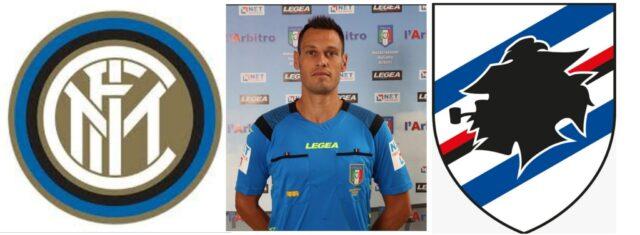 Maurizio Mariani arbitra: Inter – Sampdoria