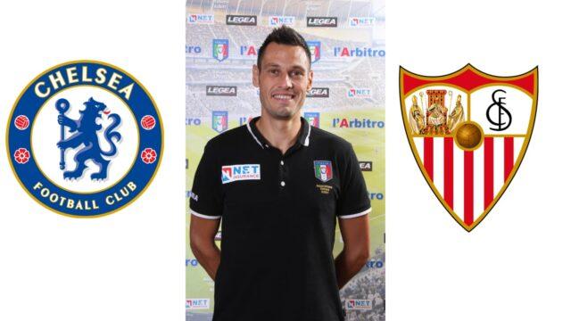 Champions League: Maurizio Mariani in: Chelsea – Sevilla