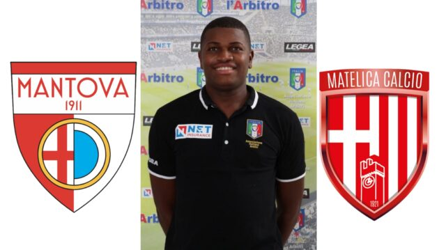Franck Nana in: Mantova FC – Matelica