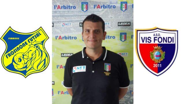 Roberto Galasso Arbitra: Frosinone Futsalfemminile – Vis Fondi