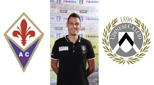 Maurizio Mariani in: Fiorentina – Udinese