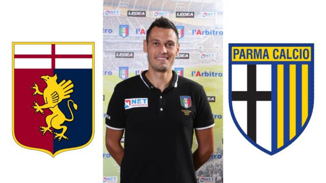 Maurizio Mariani Arbitra: Genoa – Parma