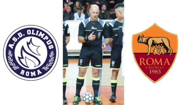 Ivo Colangeli in: Olimpus Roma – Roma Calcio a 5