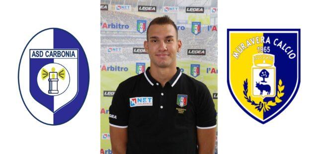 Simone Gavini Arbitra: Carbonia Calcio – Muravera