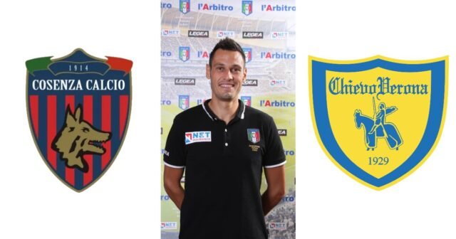Maurizio Mariani in: Cosenza – Chievo