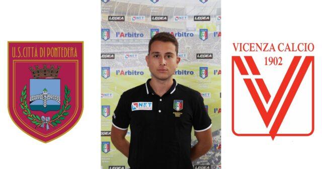 Valerio Brizzi in: Città di Pontedera – Vicenza Calcio