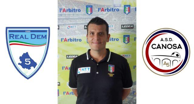 Roberto Galasso in: Real Dem Calcio a 5 – Canosa A5