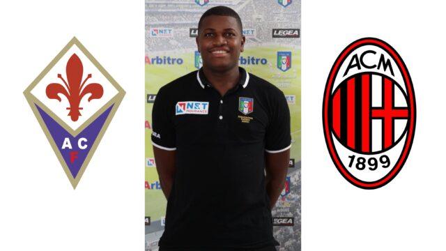 Franck Nana in: Fiorentina s.p.a. – Milan spa