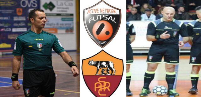 Simone Pisani e Ivo Colangeli in: Active Network Futsal – Roma Calcio A5