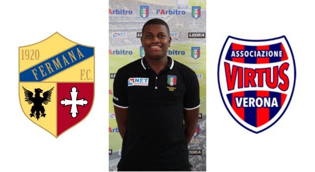 Franck Nana in: Fermana F.C. – Virtusvecomp Verona
