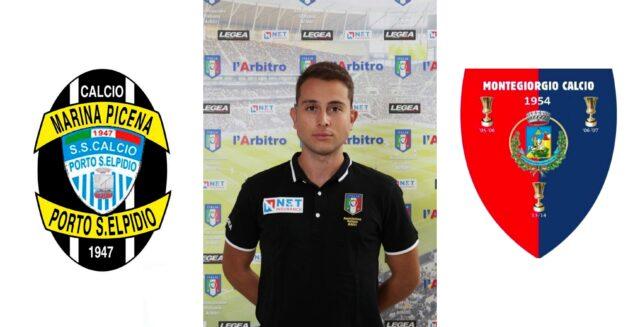 Valerio Brizzi in: Calcio Porto S. Elpidio MP – Montegiorgio Calcio A.R.L.