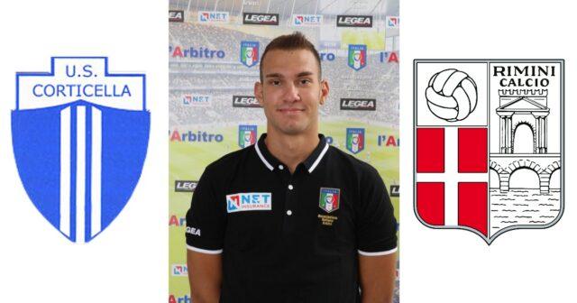 Simone Gavini in: Corticella – Rimini Football Club