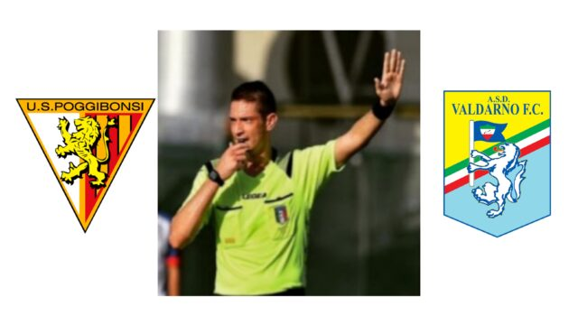 Andrea Giordani dirige: Poggibonsi s.r.l. – Valdarno Football Club