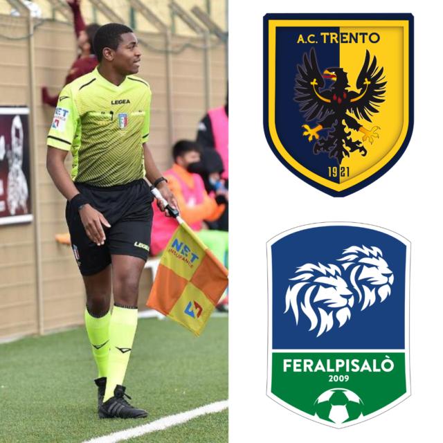 Franck Nana in: AC Trento – Feralpisalò