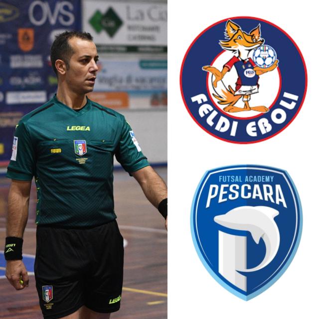 Simone Pisani in: Feldi Eboli – Futsal Pescara 1997